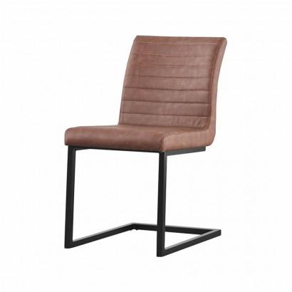RIO chaise en PU - Brown