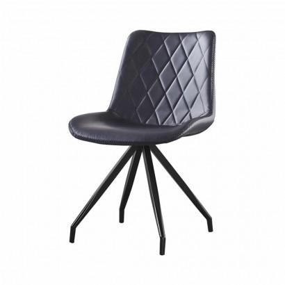 DONIA PU chair - Black