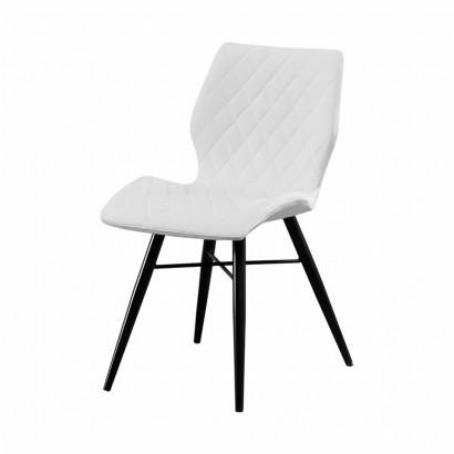 DOM Chaise en PU - Dom - White