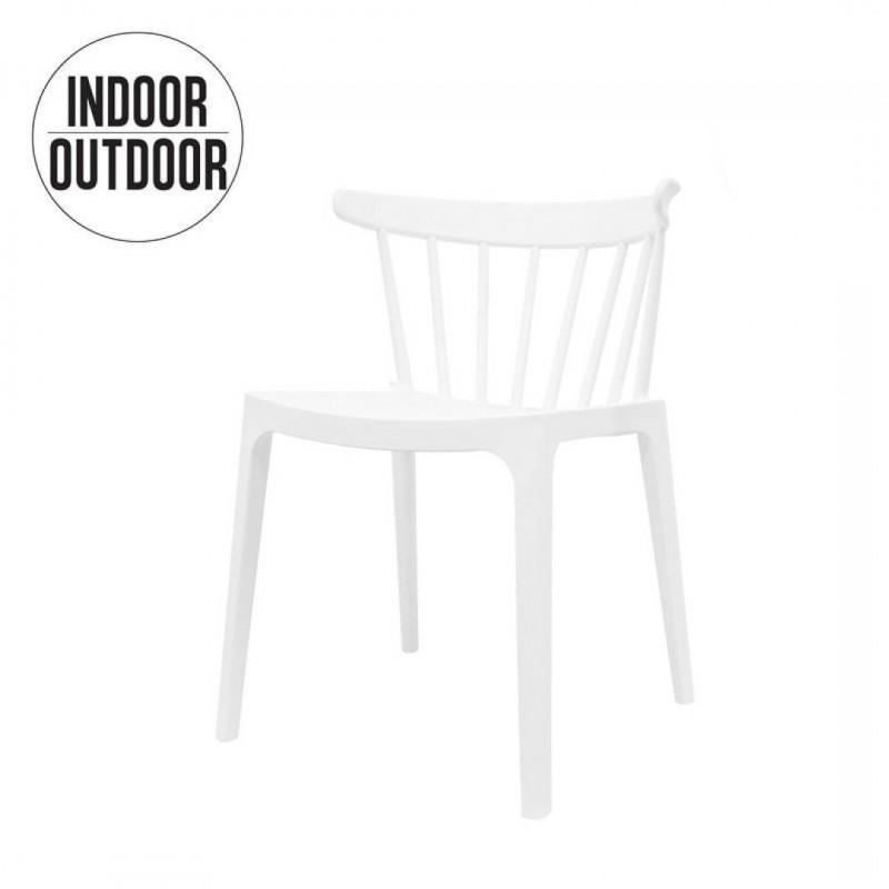 Stapelbare stoel voor BINNEN EN BUITEN 52x40xH75 cm
