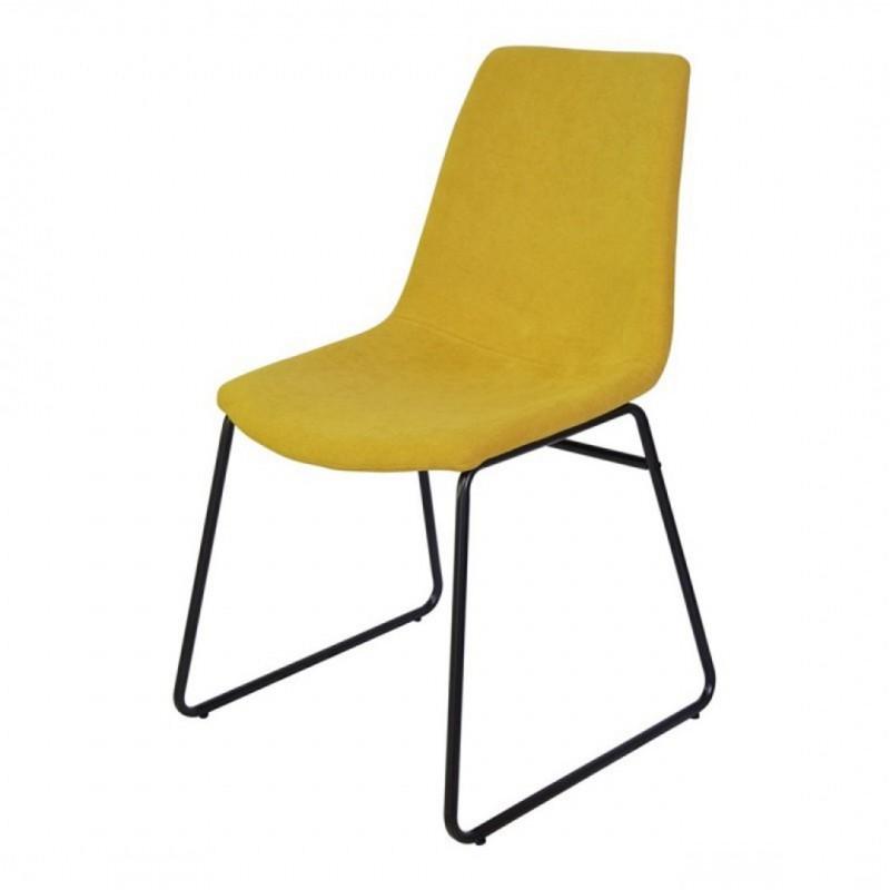Chaise de salle à manger pieds métalique