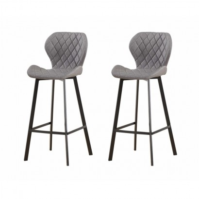 Set of 2 DOM Tabourets Bar...