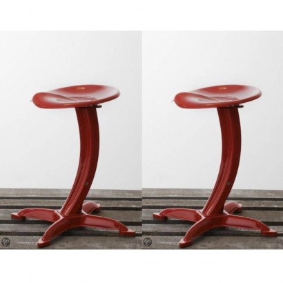 Set of 2 DULTON Tabourets...
