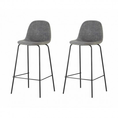 Set of 2 HARVEY Tabourets...