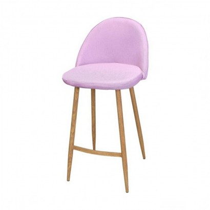 Trendy bar stool with backrest
