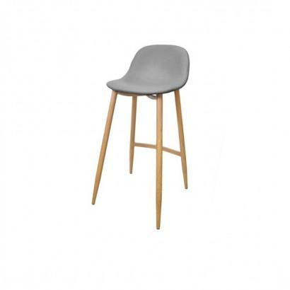 Trendy bar stool - Grey - Jude