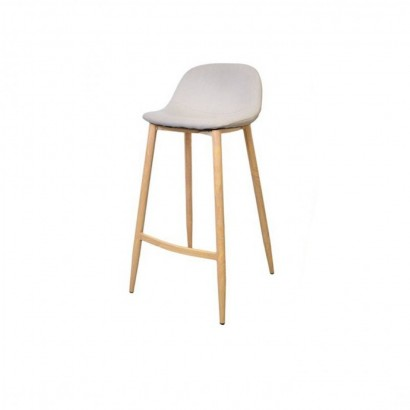 Trendy bar stool - Beige -...