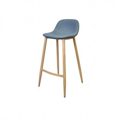 Trendy bar stool - Blue - Jude