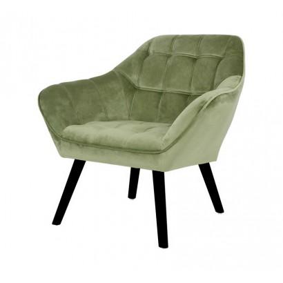 Velvet Armchair OSLO -...