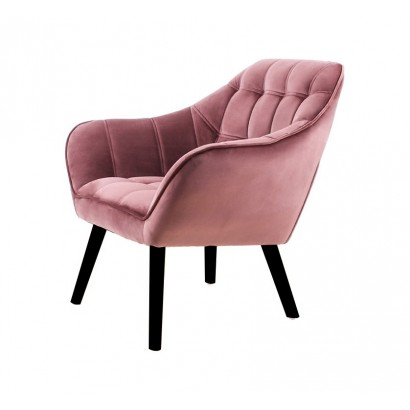 Velvet Armchair OSLO - Pink...