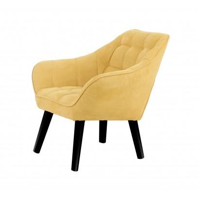 Leather Armchair OSLO -...