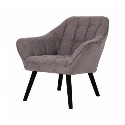 Suede Armchair OSLO - Taupe...