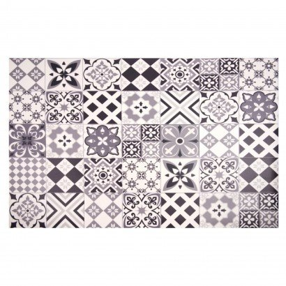 Cement tile pattern vinyl...