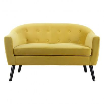 Canapé 2 places en velours...