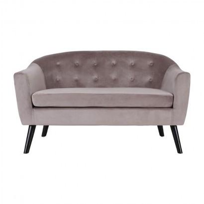 KLARY velvet sofa L.130 x...