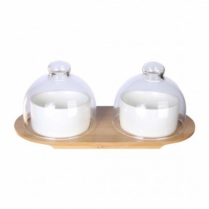 Set de mini cloche en verre