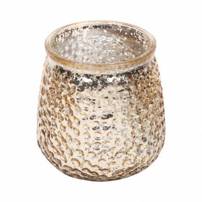 Glazen kaarsenpot - Roest