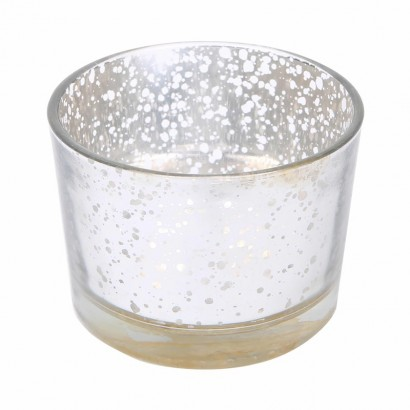 Photophore en verre - Rouille