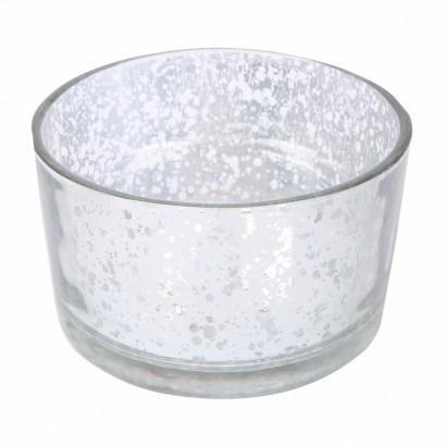 Glazen kaarsenpot -...