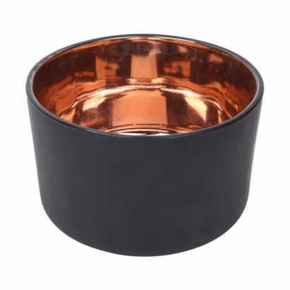 Glazen kaarsenpot