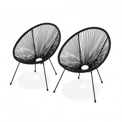 Set of 2 MEXICO FAUTEUIL PE...