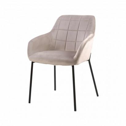 Velvet seat Origa - Beige -...
