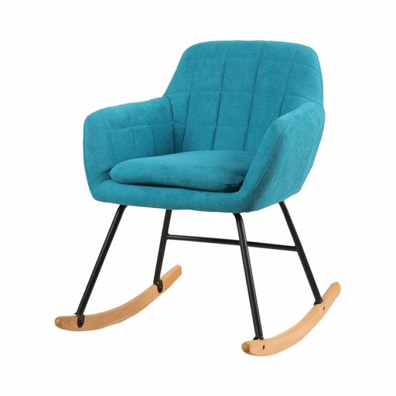 Gestoffeerde schommelstoel