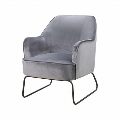 Trendy Armchair - Grey - Teo