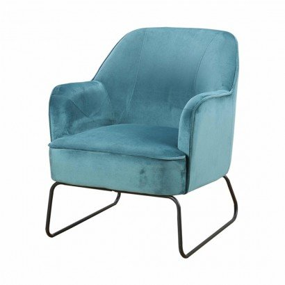 Trendy Armchair - Blue - Teo