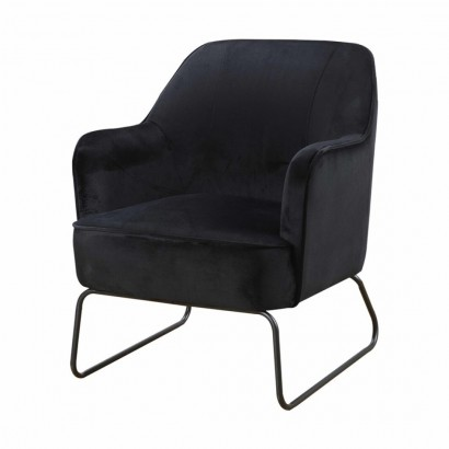 Trendy Armchair - Black - Teo