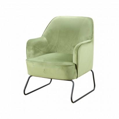 Trendy Armchair - Green - Teo