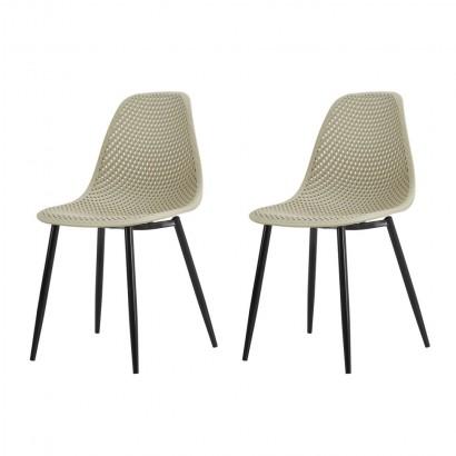 Lot de 2  chaises moderne...