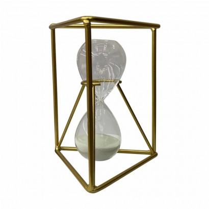 Metal hourglass