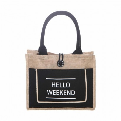 Sac imprimé HELLO WEEKEND