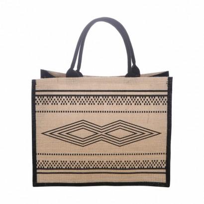 Jute bag print ethnic...