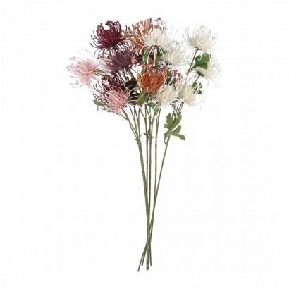 Fleur synthétique 3 têtes