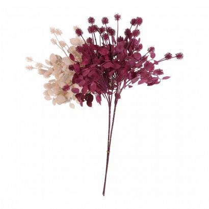 Fleur synthétique 5 têtes