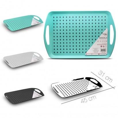 Rect anti-slip tray