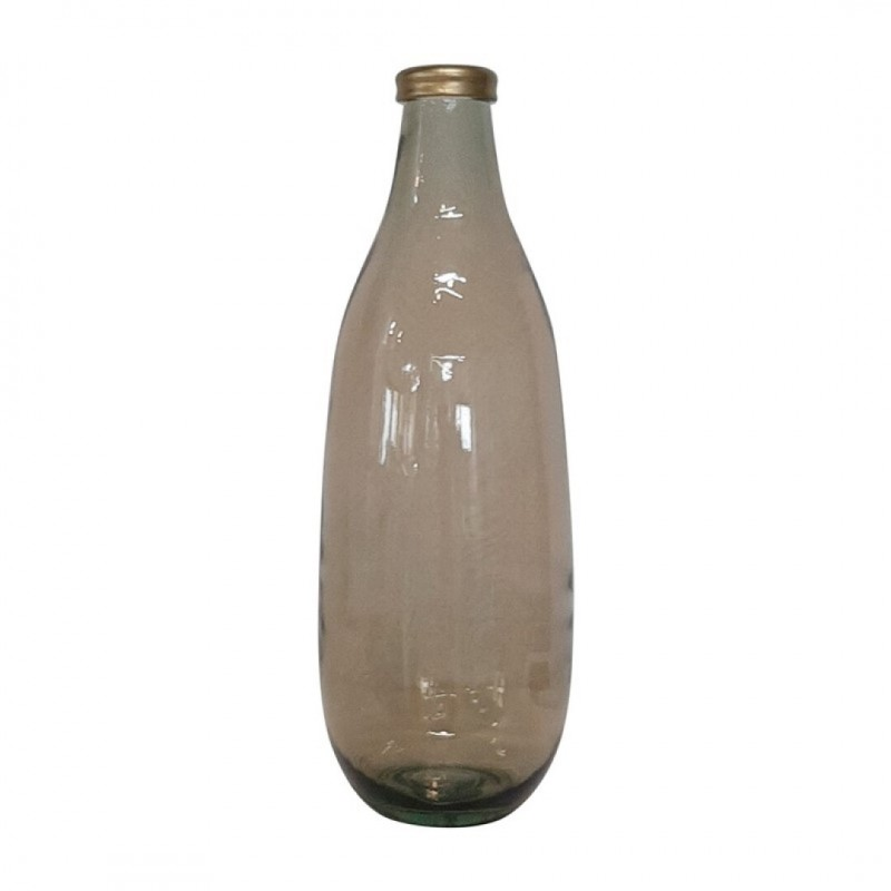 Vase PAULO ambre H40