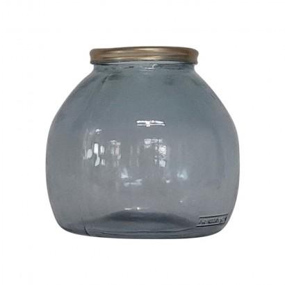 Vase XIOMARA gris H20