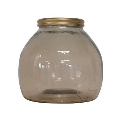 Vase XIOMARA ambre H20