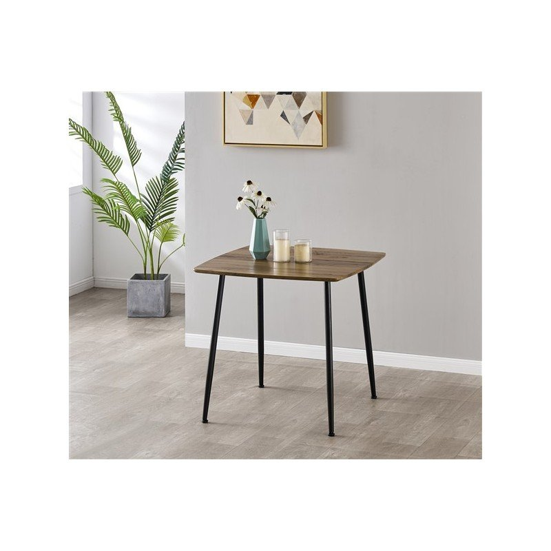 Square dining table 4 persons 80CM