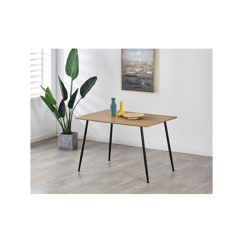 Rectangular kitchen dining table 4 persons 120X80cm