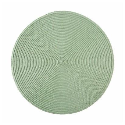 Set de table rond - Green