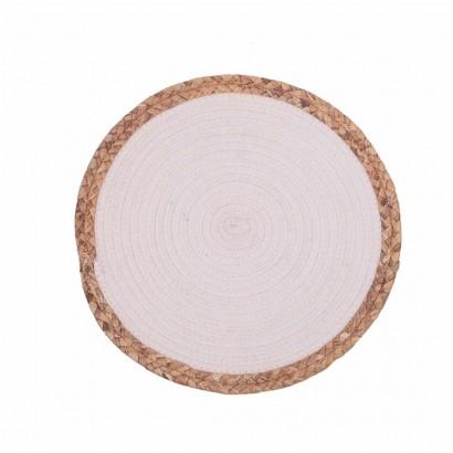 Set de table en jute - White