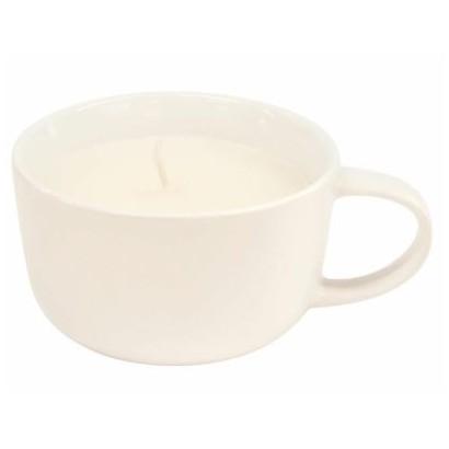 Bougie dans tasse - White