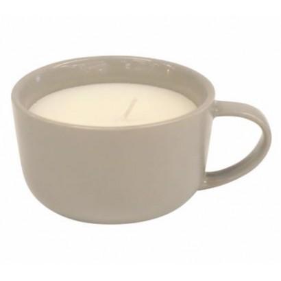 Bougie dans tasse - Taupe