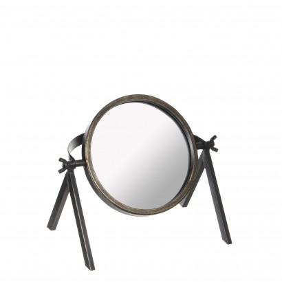 Miroir sur pieds pivotant