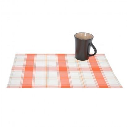 Checkered place mat 45x33...