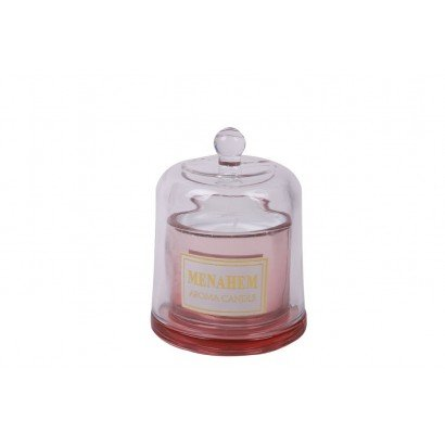 Bougie sous cloche - Pink